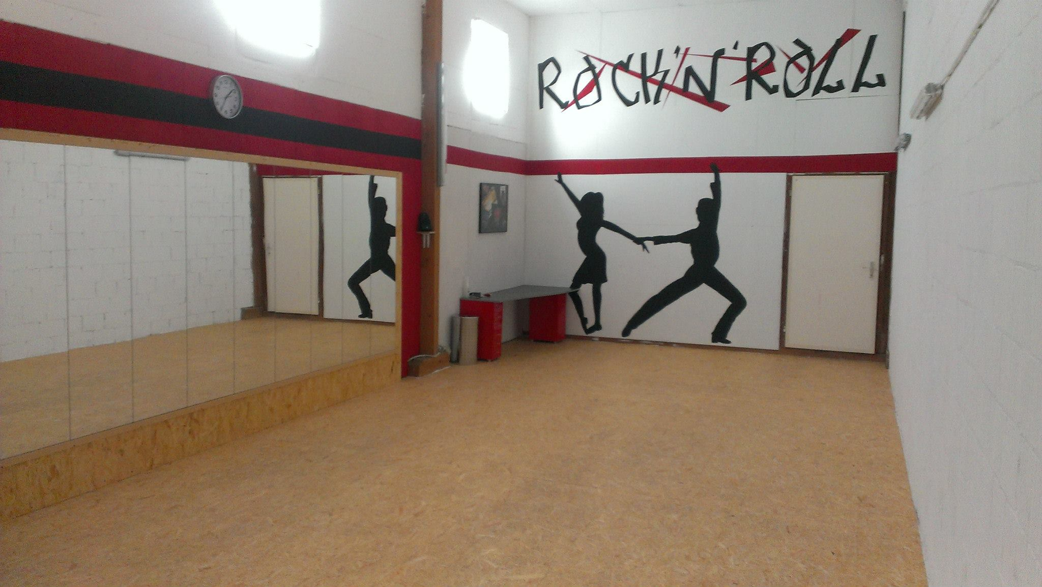 Bau des Tanzstudios