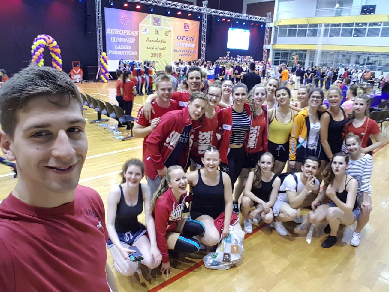 Europameisterschaft Ladies Formations & 2. Open Championship Slavonski Brod